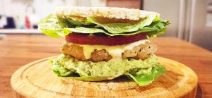 Fish Avocado Sandwich