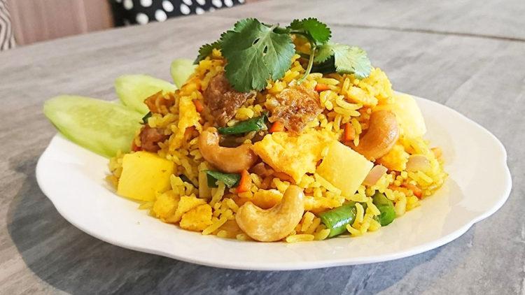 Pineapple Cashew Fried Rice