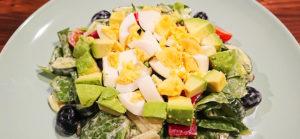 Creamy Salad with Avocado and Egg