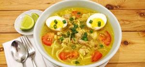 Chicken Soto (Indonesian Chicken Soup)