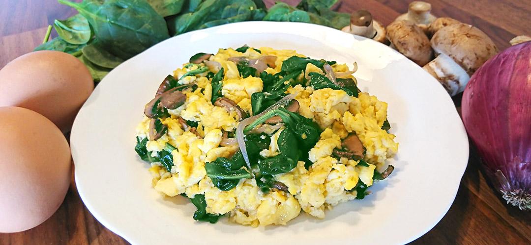 creamegg-spinach